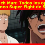 One Punch Man: Todos los oponentes del torneo Super Fight de Saitama