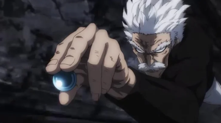 Silver fang-one punch man