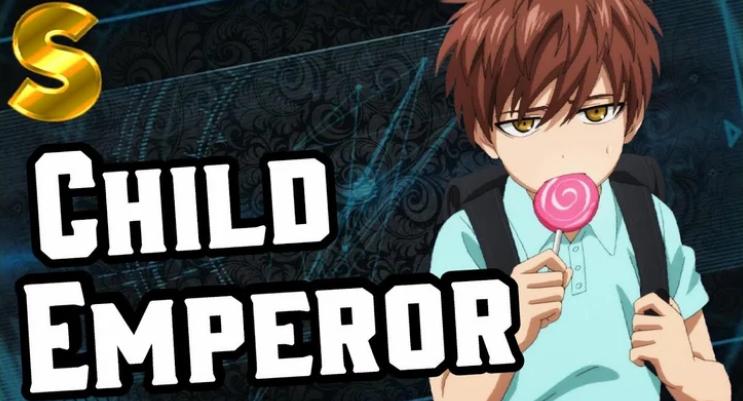 Clhild emperor-one punch man