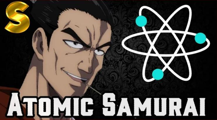 Atomic samurai-one punch man