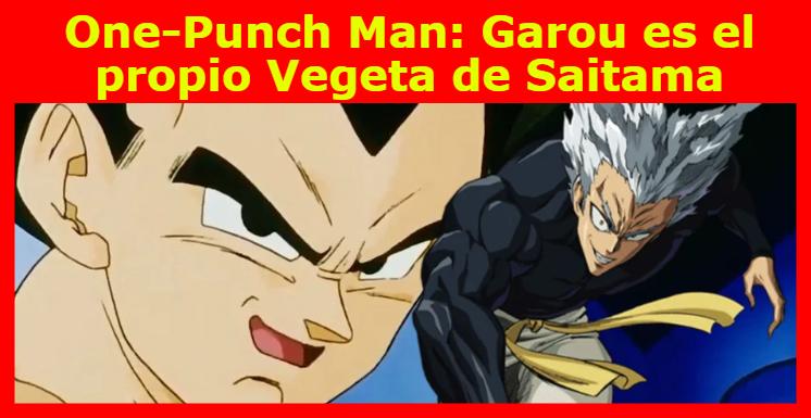 One-Punch Man: Garou es el propio Vegeta de Saitama