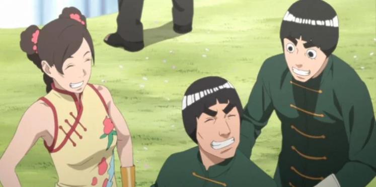 Padres mejor que Naruto. Rock Lee