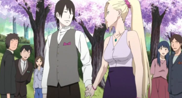 Padres mejor que Naruto. Ino / Sai