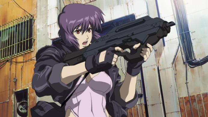 Los 15 personajes de anime más populares. Motoko Kusanagi