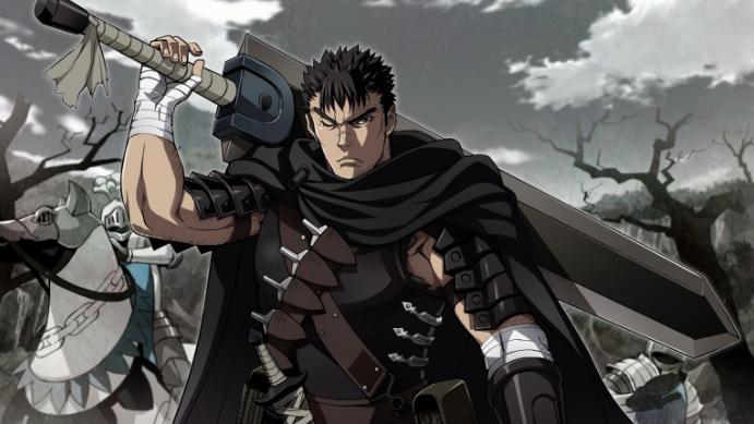 Los 15 personajes de anime más populares. Guts