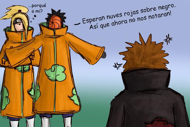 Disfraz de Tobi. Memes de fan art Naruto