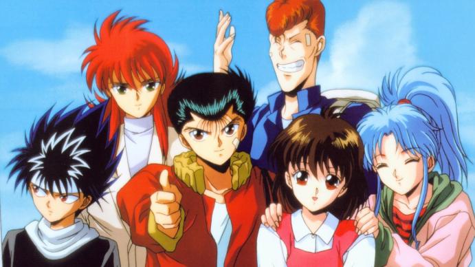Mejores animes de los 90. Yu Yu Hakusho