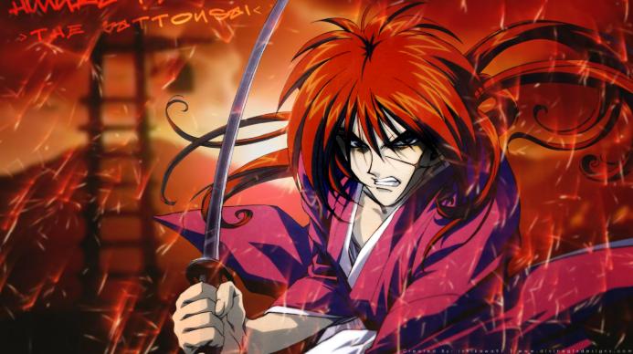 Mejores animes de los 90. Rurouni Kenshin