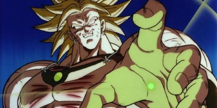 Dragon Ball: las 15 mejores transformaciones. BROLY SE CONVIERTE EN UN SUPER SAIYAN