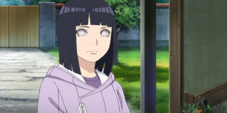 Hinata. Hay más en su peinado